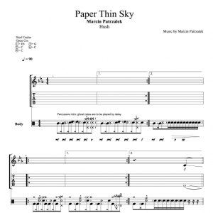 Paper Thin Sky – TABS