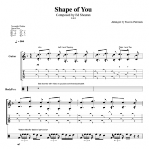 Shape Of You – TABS