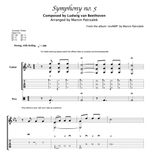 Beethoven's 5th Symph. – TABS