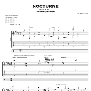 Chopin Nocturne – TABS